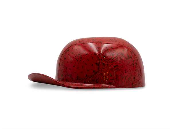 Red Bandana Doughboy Lid