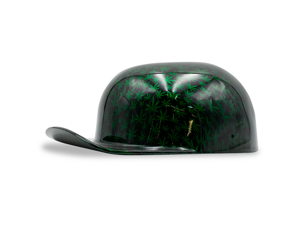Green Marijuana Plant Doughboy Lid