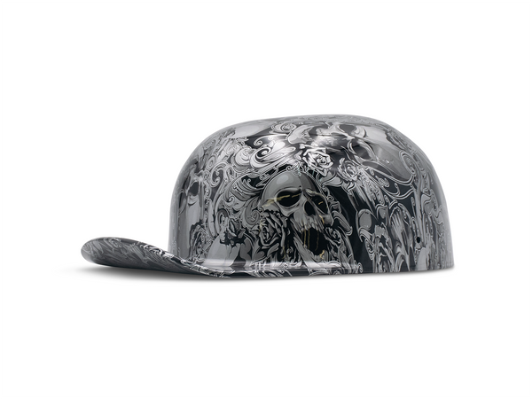 Skulls and Filigree Doughboy Mike's ProLids Novelty Lid
