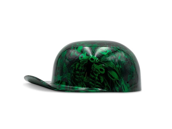Candy Green Gangsta Skulls DoughBoy Novelty Lid