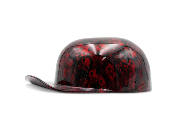 Candy Red Gangsta Skulls DoughBoy Novelty Lid