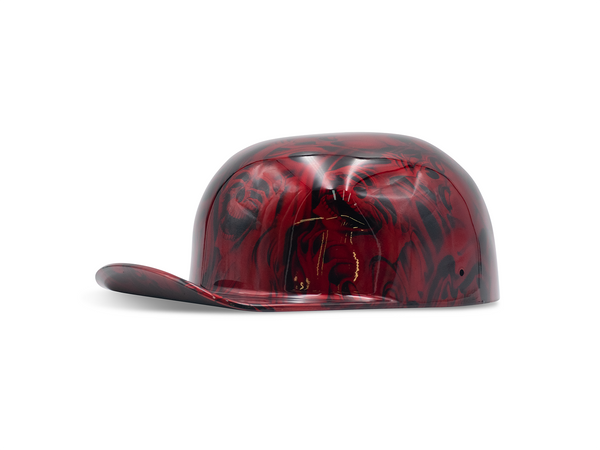 Candy Red Hear No Evil Doughboy Mike's ProLids Novelty Lid