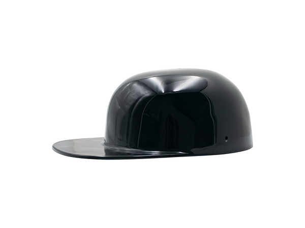 Gloss Black FlatBoy Motorcycle Lid