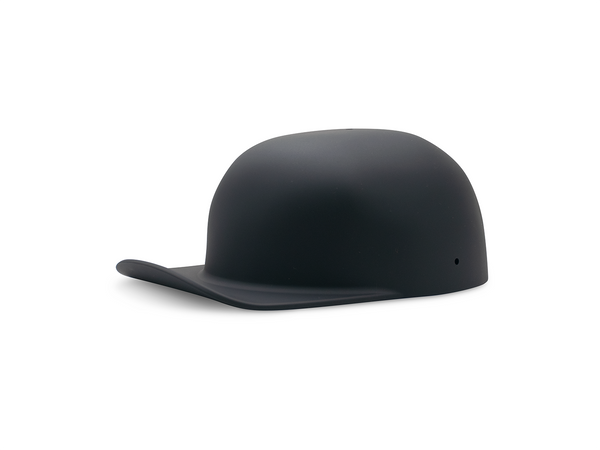 Matte Black Motorcycle Lid