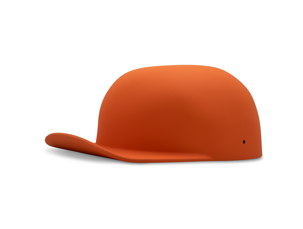 Matte Orange DoughBoy Lid
