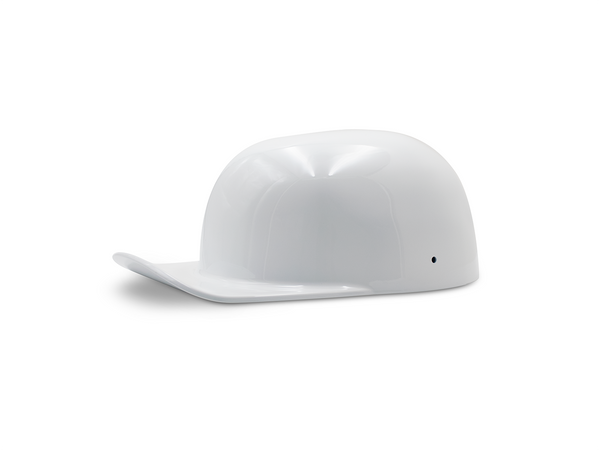 Gloss White DoughBoy Motorcycle Lid