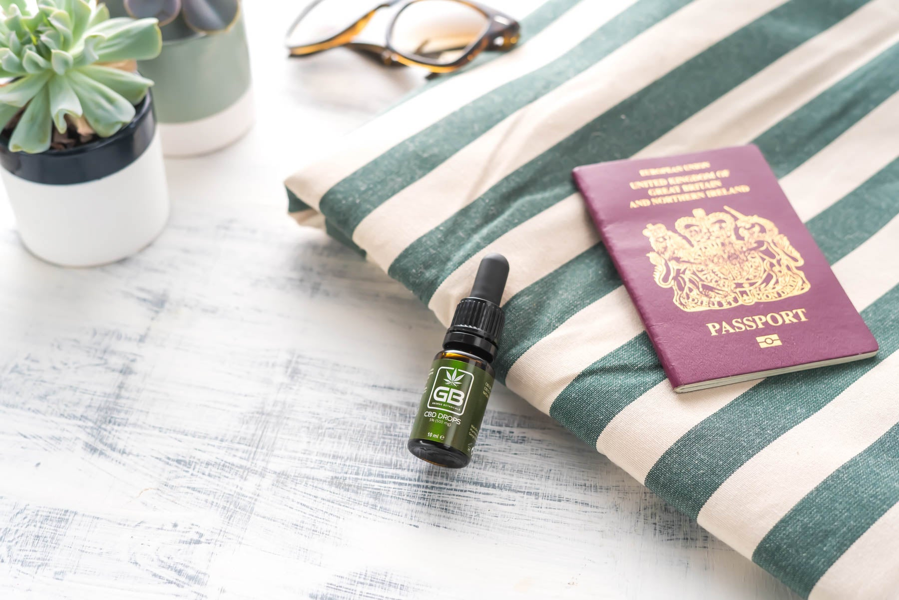 Can you take CBD with you on Holiday?