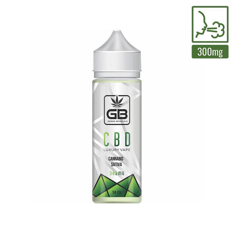 George Botanicals - CBD E-liquid  - Cannabis Sativa L - 50ml (300mg)