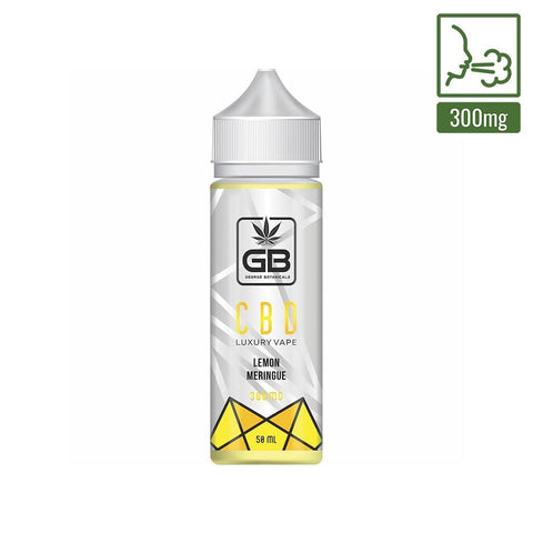 George Botanicals - CBD E-liquid - Lemon Meringue - 50ml (300mg)