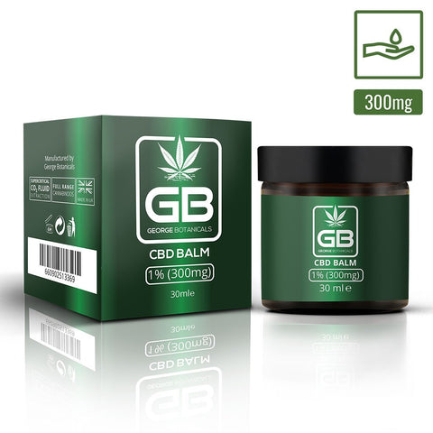 George Botanicals - CBD Balm 1% (300mg CBD) 30ml