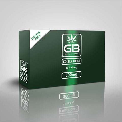 George Botanicals - CBD Edible Gels - 1000mg CBD (pack of 10)