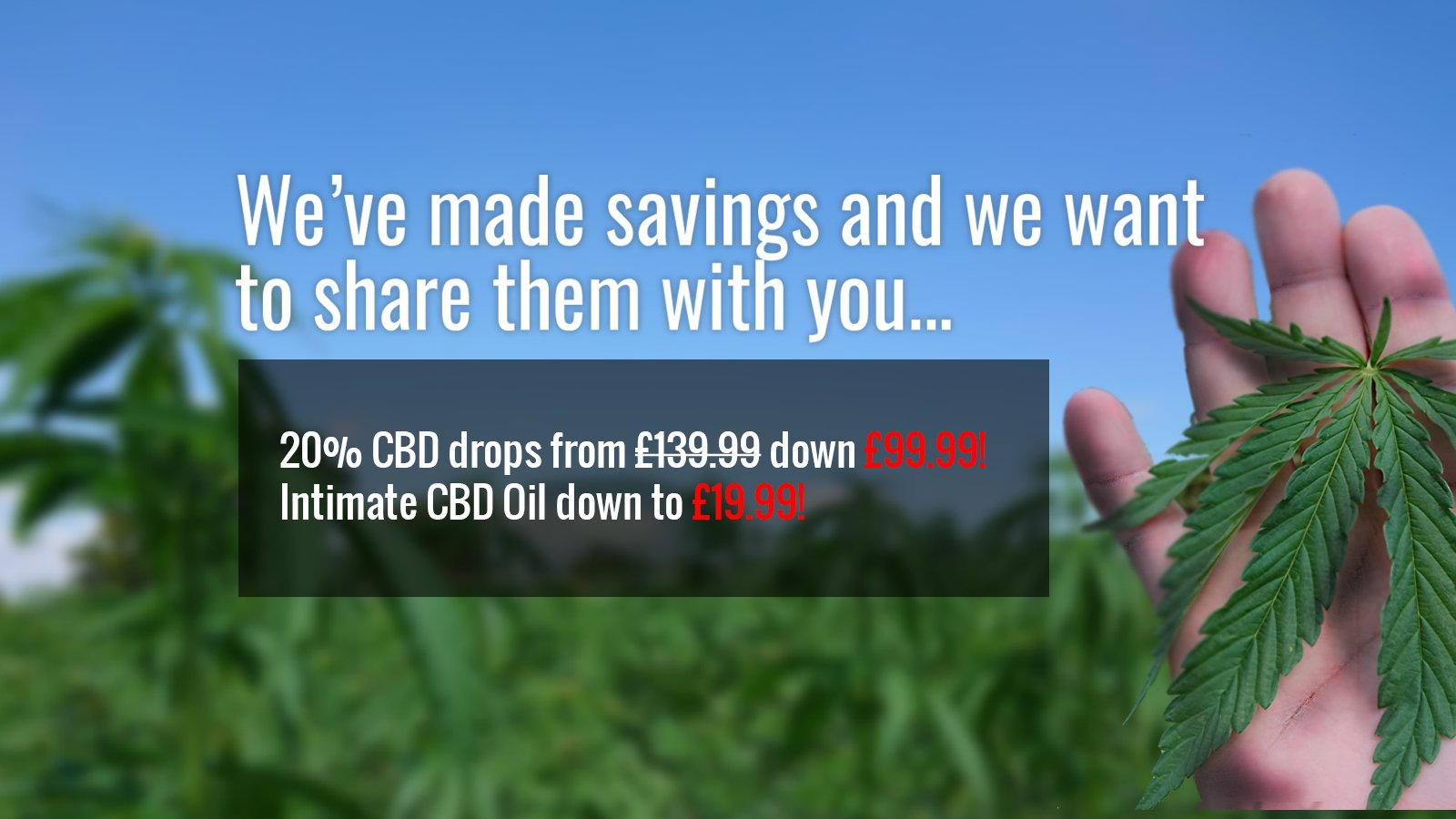 George Botanicals | CBD | CBD Oil | UK's Leading CBD supplier