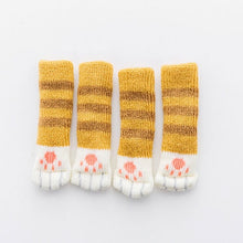 decoration kawaii table chaussettes chat