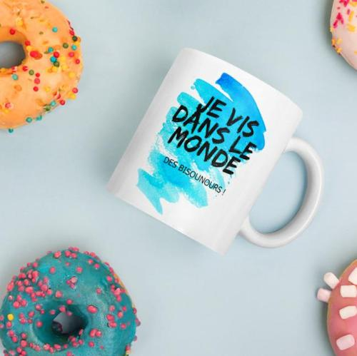 mug  orginal bisounours - les grands enfants