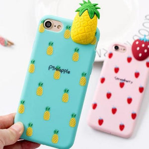 Coque ananas 3D iphone