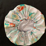 Little Mermaid Satin Lined Bonnet