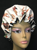 Ruffled Edge Moana Bonnet