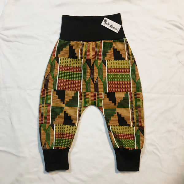 Aftican Kente Harem Pants