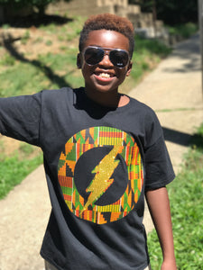 African Kente Flash Unisex Tees