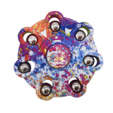 Abstract Turtle Back Fidget Spinner