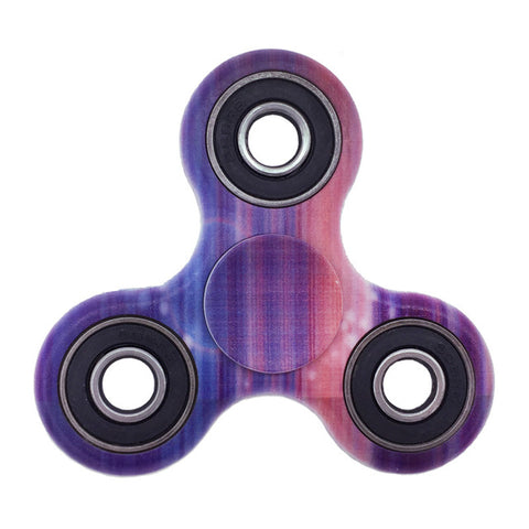 Abstract Patterned Tri Fidget Spinners