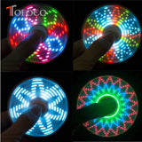 LED, Glow-n-the-Dark Fidget Spinner