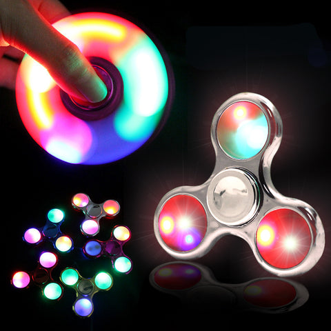 New Lighted LED Fidget Spinner
