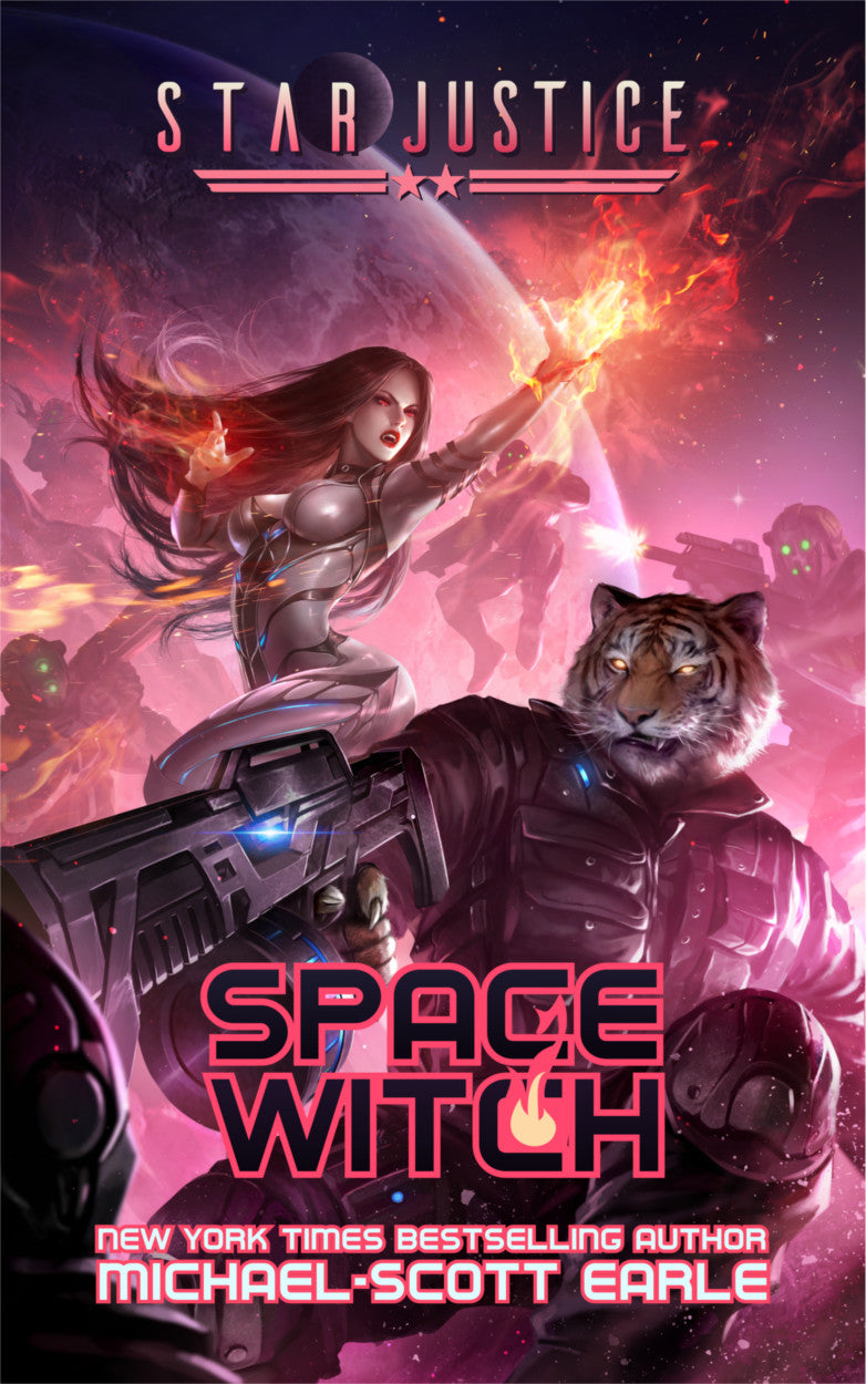 Star Justice: Space Witch - book.02 | eBook