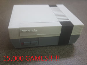 Nintendo NES 3D Printed Case RetroPie System with Almost 15,000 Games