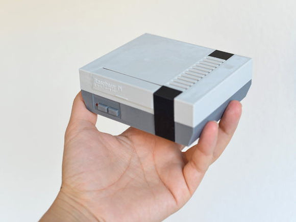 Nintendo NES RetroPie System with 3D Printed Case with 10,000+ Games Installed