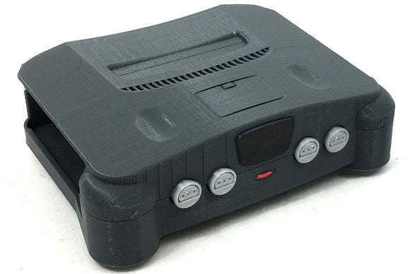 BLACK NINTENDO 64 N64 RETROPIE 15,000 GAME SYSTEM - NES, SNES, SEGA, ATARI AND MUCH MORE