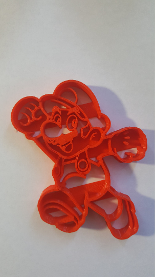 Super Mario Brothers - Mario Cookie Cutter