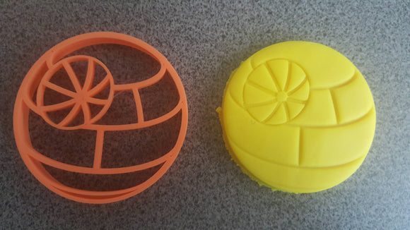 Star Wars Death Star Cookie and Fondant Cutter