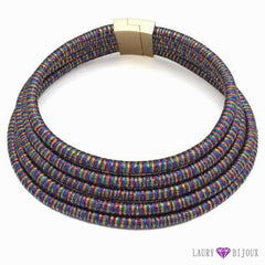 Collier Ras Du Cou Kim Kardashian Multi Couleurs Uken Fashion