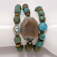Green Turquoise Set