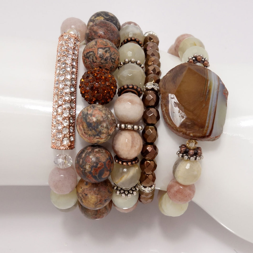 Moon Struck Five Bracelet Bundle