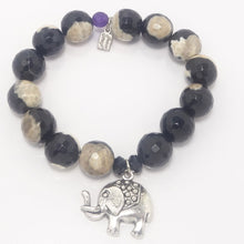 Black/Tan Elephant Set