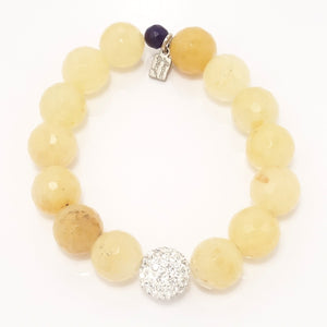 Sheer Yellow Quartz/Silver