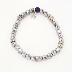 Silver/Light Gold Bracelet