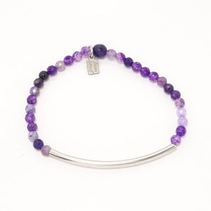 Purple/Hematite Bars