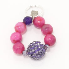 Purple Rhinestone Ball