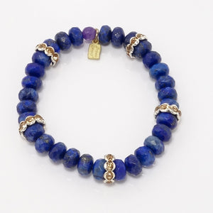 Blue Lapis Love Five Bracelet Bundle