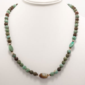 Brown/Green Turquoise/Copper