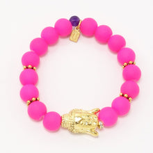 Hot Pink/Gold Buddha