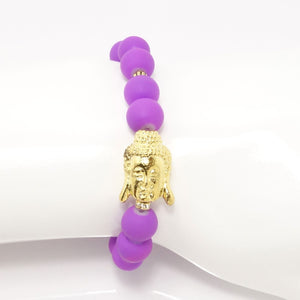 Purple/Gold Buddha
