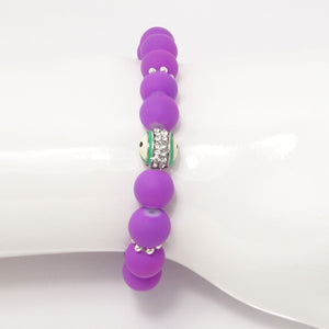 Purple/Green Evil Eye