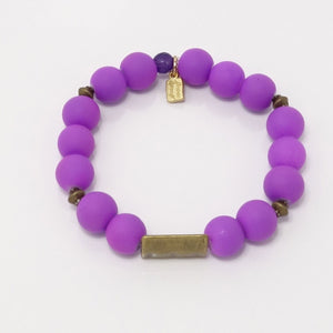 Purple/Antique Gold