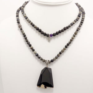 The Onyx Statement Necklace