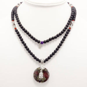 The Bodhi Statement Necklace
