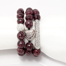 Maroon Heart Set